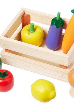 Holz Gemüse in Holz Kiste