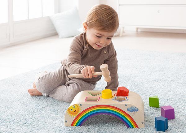 Klopfbank Rainbow von Howa Spielwaren