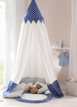 Zelt im Kinderzimmer zum Kuscheln