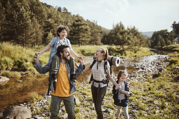 Zelten: Ferientipps für Kinder