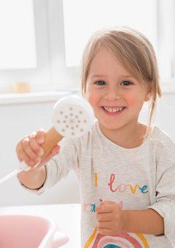 Hygienetipps für Kinder: Wickelkommode mit Badewanne
