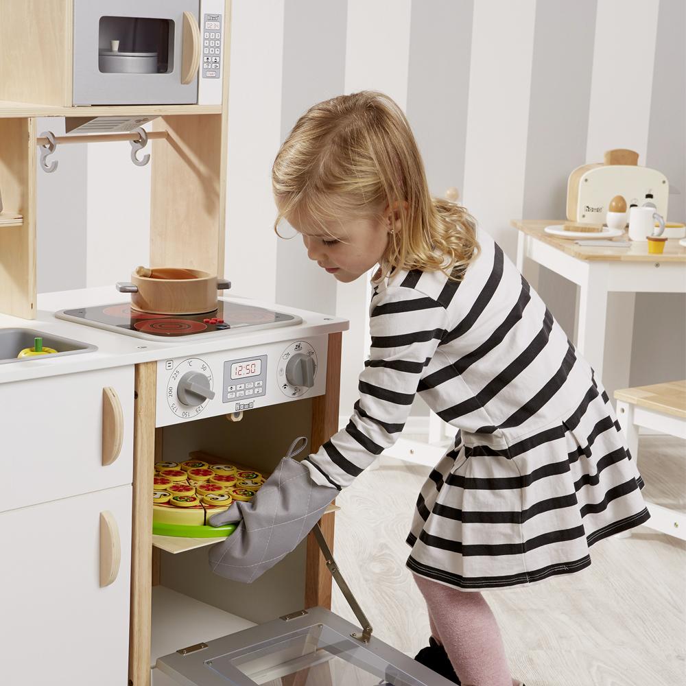 Leben in die Bude bringen Rollenspiel Kinderküche Spielküche aus Holz