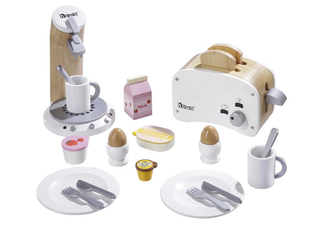 Spielzeugkaffeemaschine Kaffeemaschine Holz Toaster Holz Spielzeugtoaster