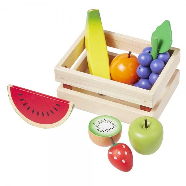 Kaufladenzubehör Obst 8 tlg. 4876