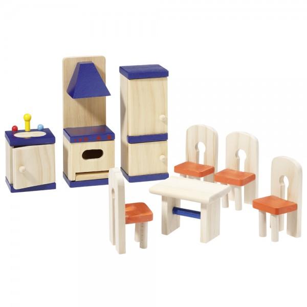 howa Puppenhausmöbel Küche aus Holz