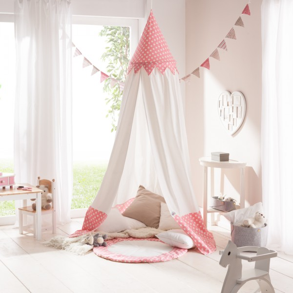 Baldachin Bed canopy Play tent for childrenu0027s rooms  Bella  cotton incl. floor mat  sc 1 st  howa Spielwaren & Baldachin Bed canopy Play tent for childrenu0027s rooms cotton incl ...