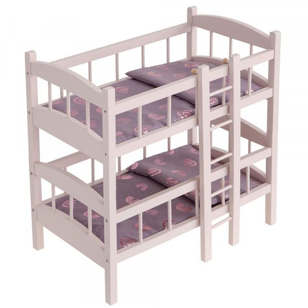 "Doll's bunk bed ""rainbow"" 24402"
