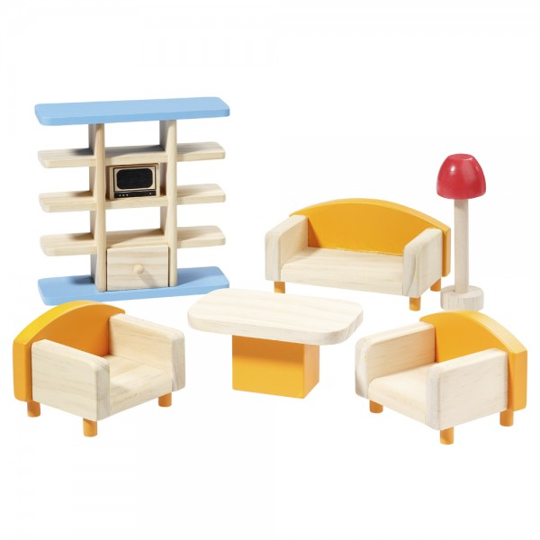 howa Doll house furniture set living room howa Spielwaren