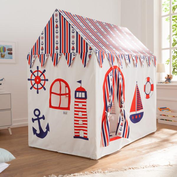 "howa XXL Spielhaus ""Sailor"" incl. Bodenmatte Baumwolle"