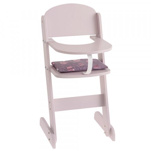 """Chaise haute pour poupée """"Rainbow"""" 28402"""